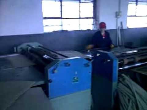 Hardboard slitting machine/grey board slitting machine