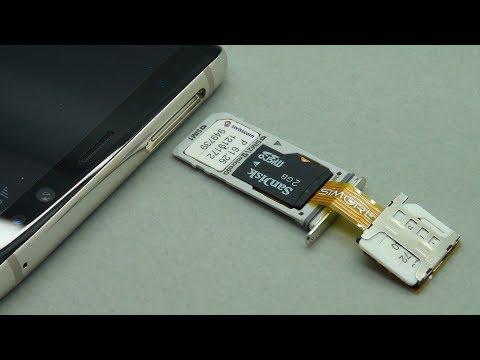 Dual SIM & SD Card working simultaneously on Samsung Galaxy Note8 Duos Hybrid DualSIM Slot