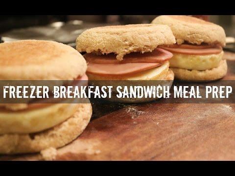 Freezer Breakfast Sandwich Meal Prep- Gauge Girl Training