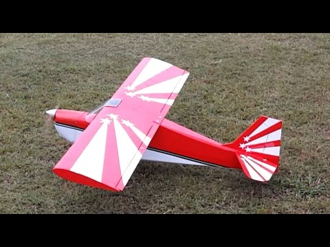 Great Planes Super Decathlon 40 Maiden Flight