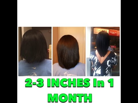 2-3 Inches Hair Growth In 1 MONTH