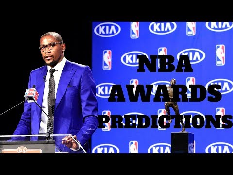2017-2018 NBA Awards Predictions