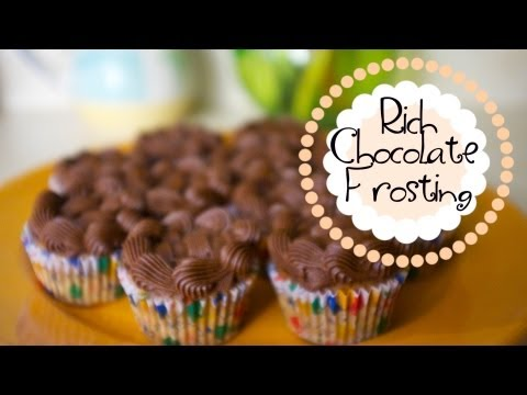 Experiment 3 - Rich Chocolate Frosting - Trisha's Kitchen