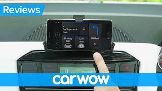 Volkswagen Up! 2018 infotainment and interior review | Mat Watson Reviews