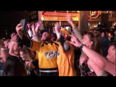 Kevin Fiala Game Winning Goal in Double Overtime Stanley Cup Playoffs Fan Reaction