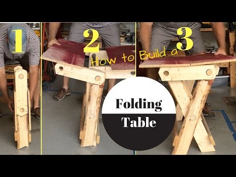 Folding Table build