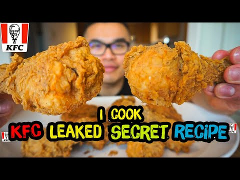 I cooked KFC leaked