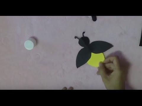 DIY Paper Firefly