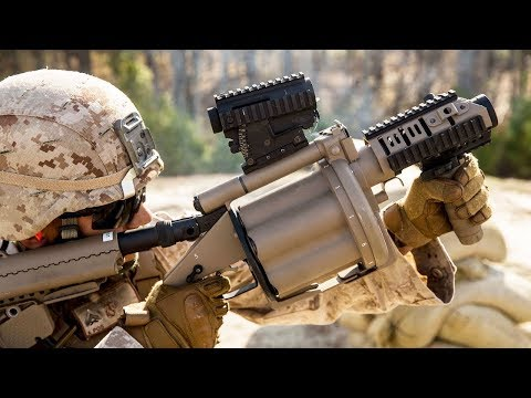 Download Weapon Familiarization • US Marines Training With The M32A1