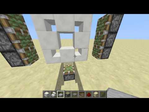 Etho 3x3 Piston Door [Minecraft Tutorial]