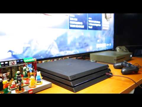 My Playstation 4 Pro Sounds Like A Jet Taking Off Playing Battlefield 1 Disc