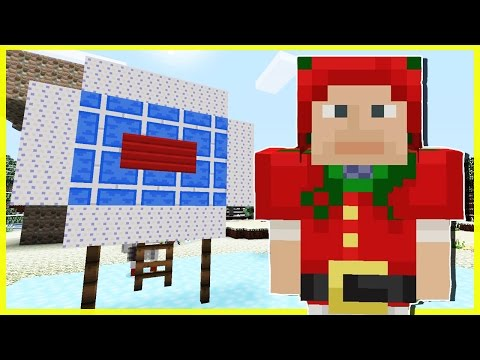 SNOWBALL TARGET PRACTICE! | Minecraft PS4 | Survival [78]