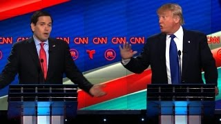 Marco Rubio And Donald Trump S Vicious Debate Battle