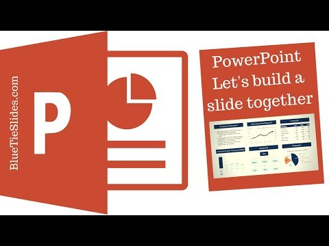 PowerPoint: Lets build a company snapshot for Apple (real-time, follow along)