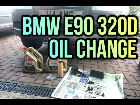BMW 325D DIY Engine Breather Change 330D E90 / E91 / Removal