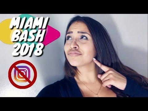 MIAMI BASH 2018 ALEX SENSATION ME BLOQUEA PORQUE NO FUE GENTE DE ZONA!!!