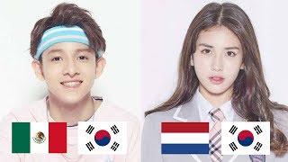 Half Korean K-POP Idols