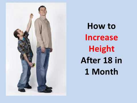 How to Increase Height After 18 in 1 Month (Guaranteed!)