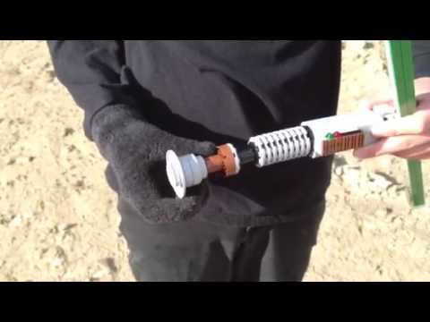 Lego Luke Skywalker lightsaber
