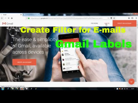 How to Filter Gmail Messgaes    Gmail Labels