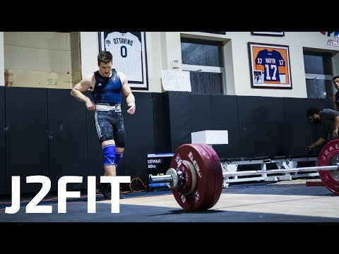 Road to the Arnold — 2018 — J2FIT Weightlifting