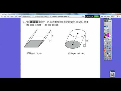 Volume of Prisms and Cylinders - Module 21.1 (Part 1)