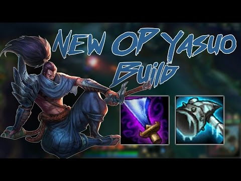 NEW OP YASUO BUILD. THE RETURN OF MID YASUO (PATCH 6.16}