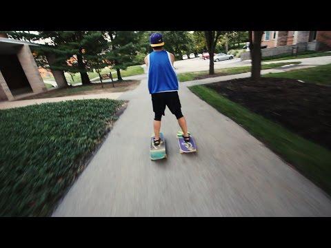 The BEST/WORST way to get around a College Campus... || Kent Heckel