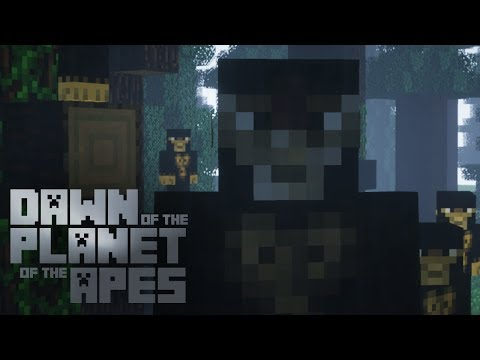 Planet of the Apes Trailer In Minecraft [Minecraft Machinima]