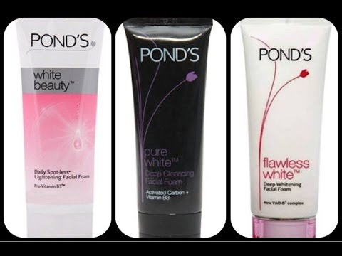 Ponds Face Wash Review | Ponds Daily Spotless | Ponds Flawless White |Ponds Activated Carbon