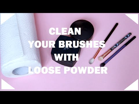 Quick & Easy: DRY CLEAN Your Makeup Brushes in 15 Seconds