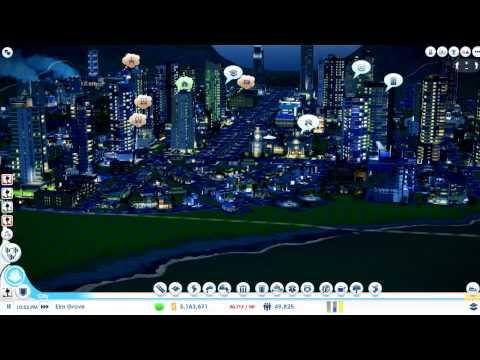 SimCity 2013 Sandbox Gameplay