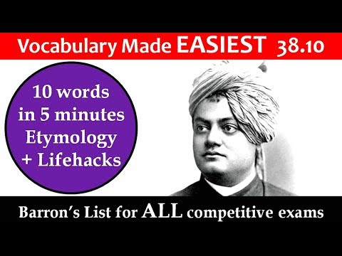 vocabulary made easiest 38.10 learn etymology by puneet biseria in hindi