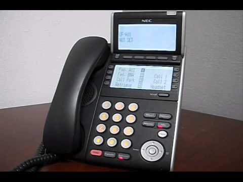 How to Set Call Forwarding on SV8100/SV9100 NEC Phone System