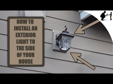 How To Install An Exterior Light To Your Home