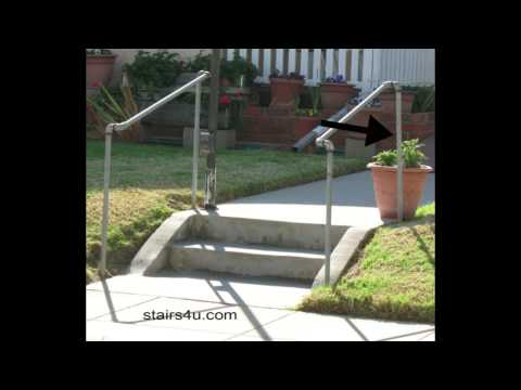 The Cheapest Exterior Stair Handrail - Money-Saving Ideas