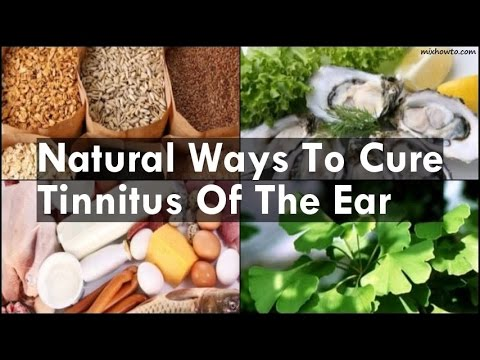 Natural Ways To Cure Tinnitus Of The Ear