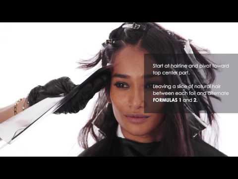 Brunette Caramel Highlights  Easy Hair Color Tutorial
