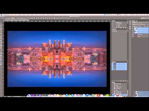 MIRROR IMAGES: PHOTOSHOP TUTORIAL