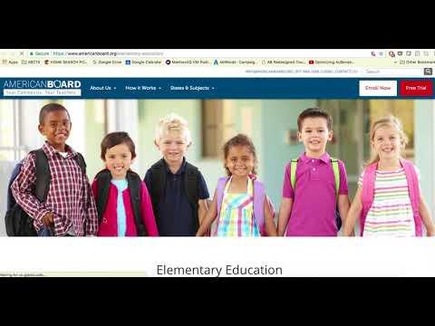 How Online Teacher Certification Works