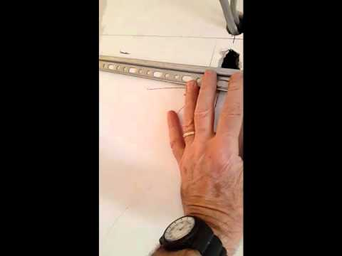 Fix heavy wall units to stud wall