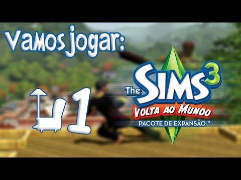 The Sims 3 World Adventures - Explicação Rápida e Roupas Ep.1