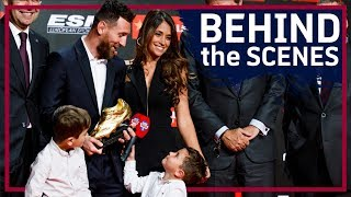 [BEHIND THE SCENES] The GOAT's 6th golden shoe   LEO MESSI