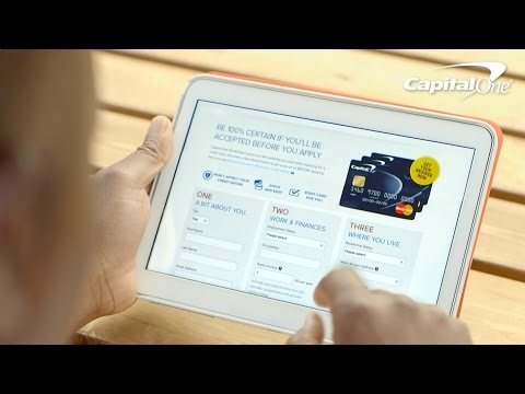 Capital One: Know if You'll be Accepted for a Credit Card Before You Apply