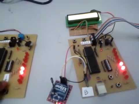 PIC Microcontroller wireless serial communication
