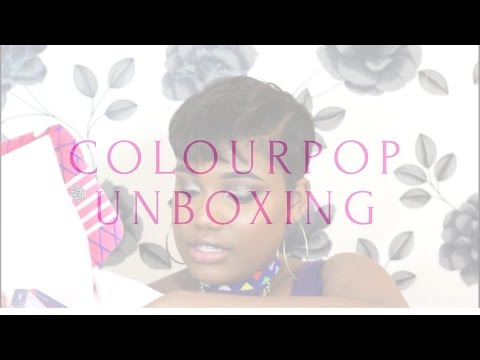 COLOURPOP Unboxing | Lip Swatches | UK Shipping/ Custom Fees