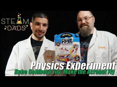 STEAMDads - Episode 012 - Rube Goldberg Machine Toy