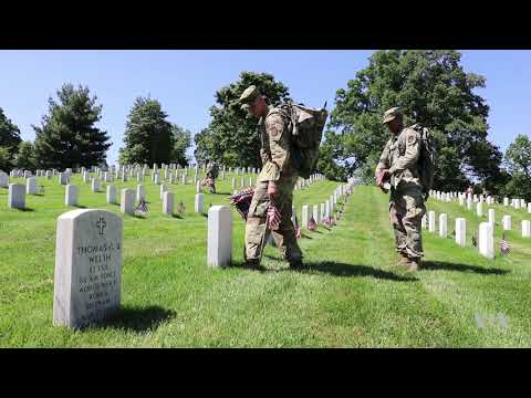 Thousands of Flags Honor the Fallen at Arlington National Cemetery