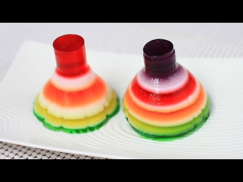 Rainbow Jello With Mold