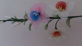Stocking flower making videos ,stocking flower tutorial easy, stocking flower bouquet